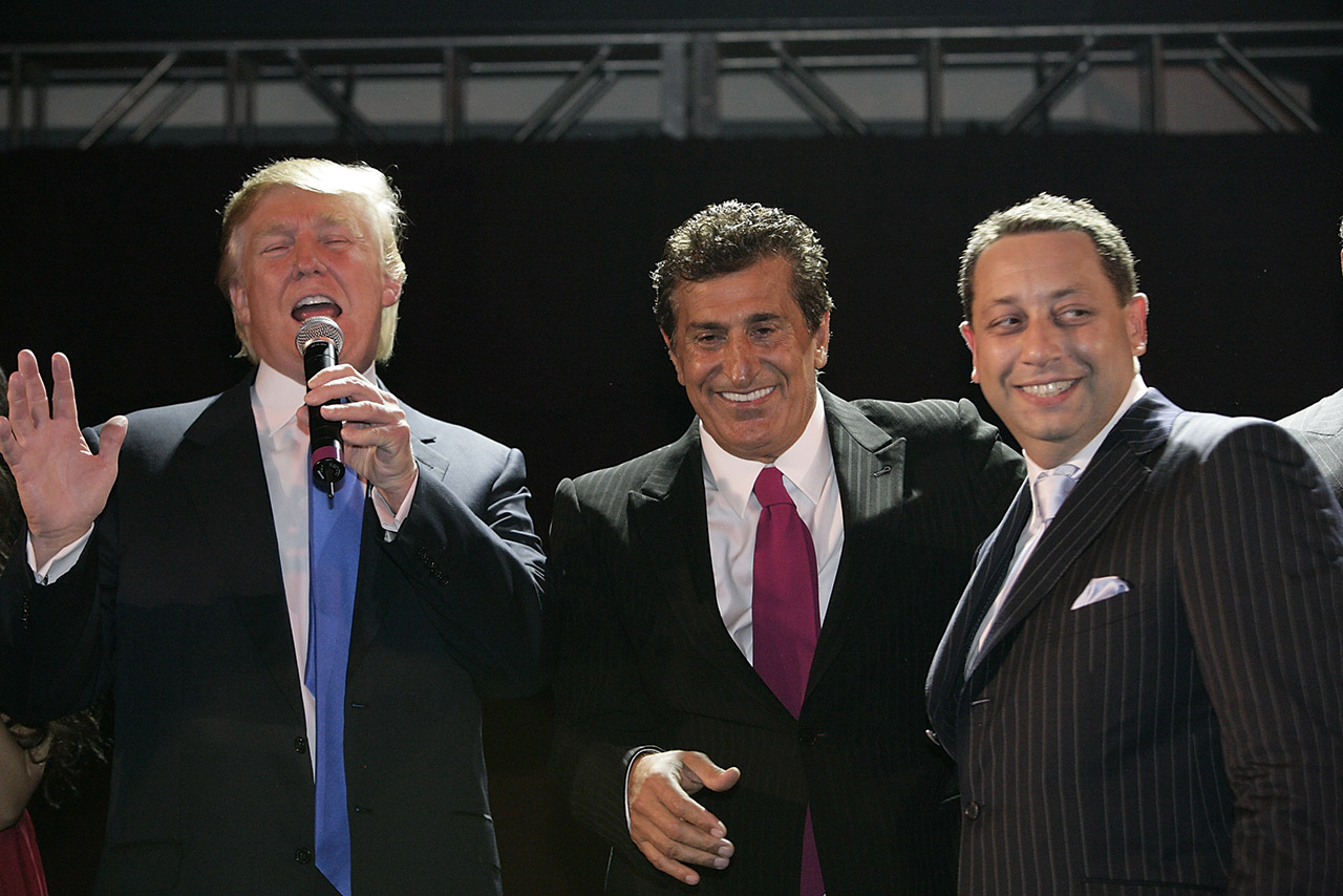 Trump Arif and Sater
