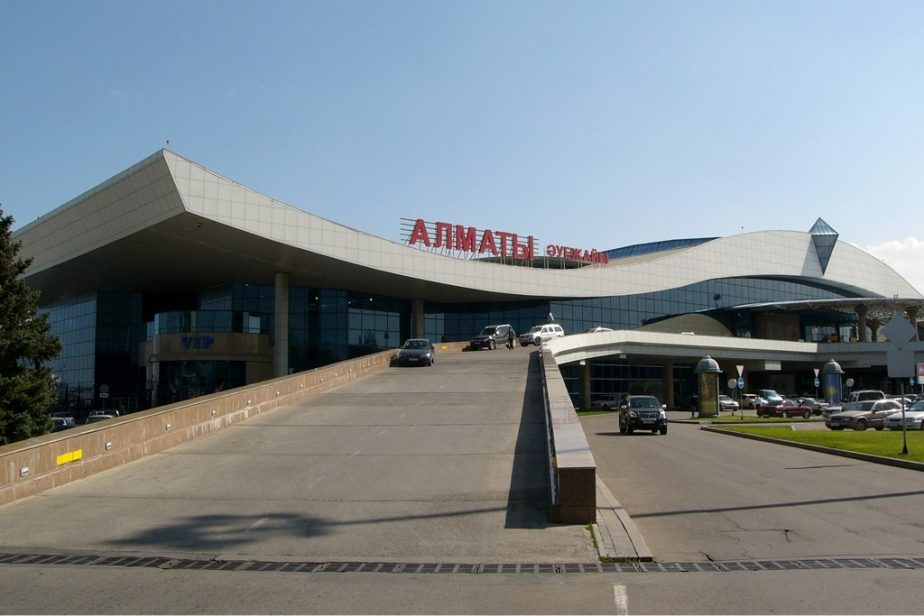 Almaty airport WikiMedia Commons