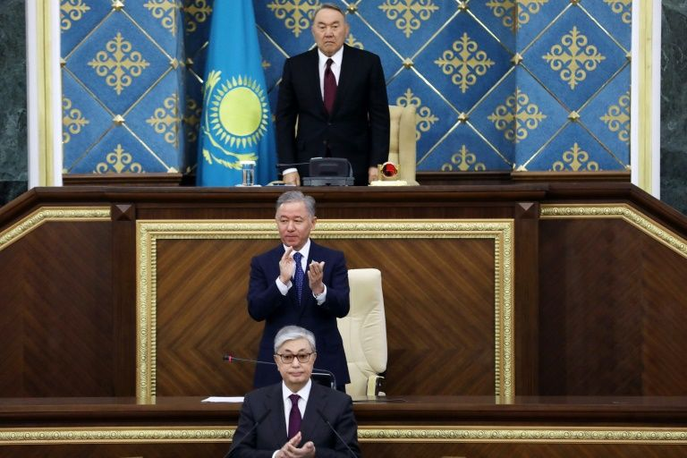 Loyalist diplomat handpicked by Kazakh ruler for president
