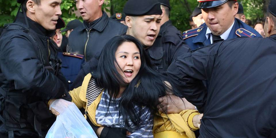 Police arrested activist