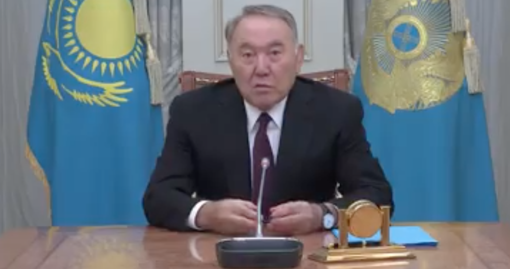 Kazakhstan: President says he is going nowhere