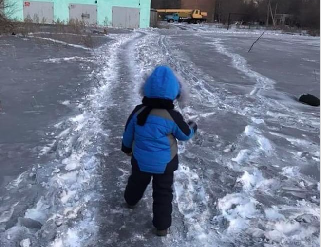 Black Snow Covers City in Kazakhstan, Infuriating Locals